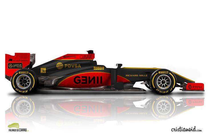Lotus F1 2015