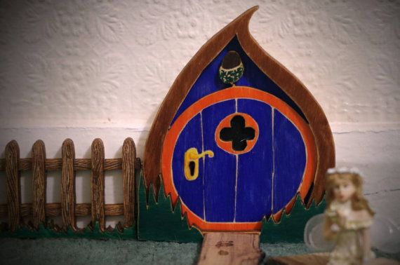 18 best original crafty design images on pinterest for Original fairy door