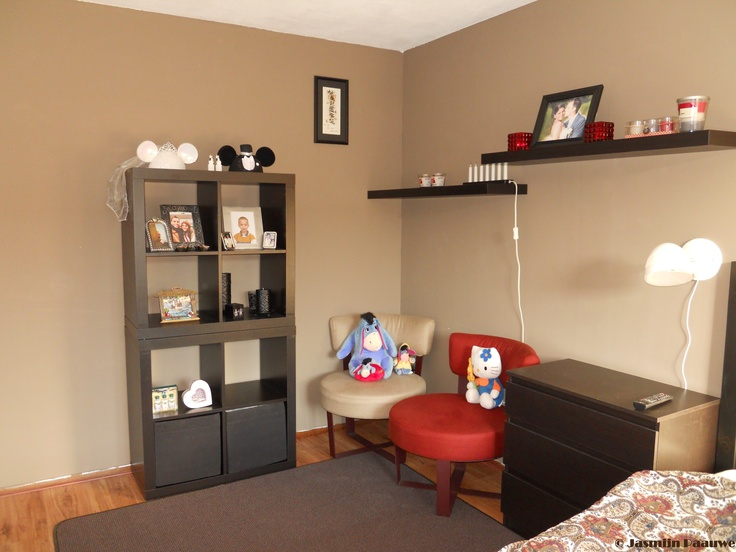 The result of my pinterest inspired mocha chocolate for Chocolate brown bedroom designs