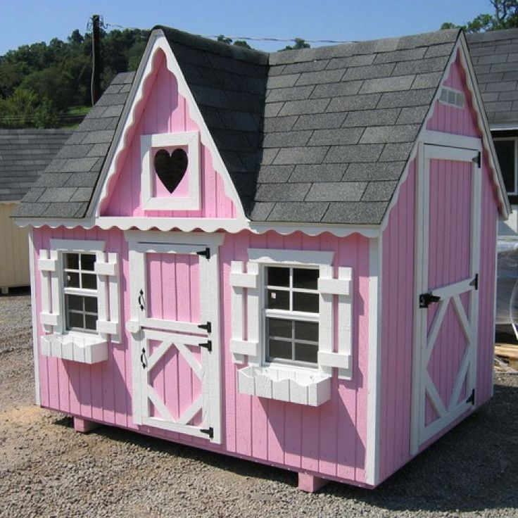 49 best amish playhouses images on pinterest playhouse for Victorian play house