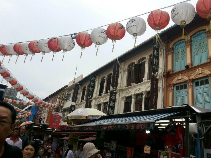 @Temple Morris str, Chinatown, Singapore