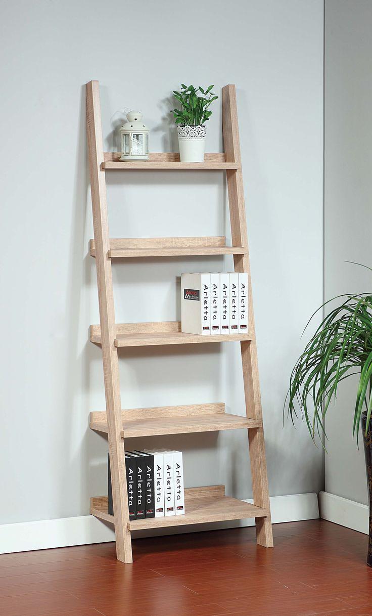 ID USA Furniture Distributor 14936 Ladder Bookcase
