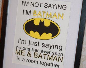 super hero boys's room | Popular items for batman room decor on Etsy