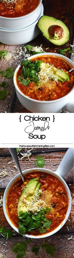 Best Healthy Chicken Tamale Soup | Enchilada, Easy, Quick, Cheesy, Stove Top, Skinny, On the Border, Spicy, Mexican
