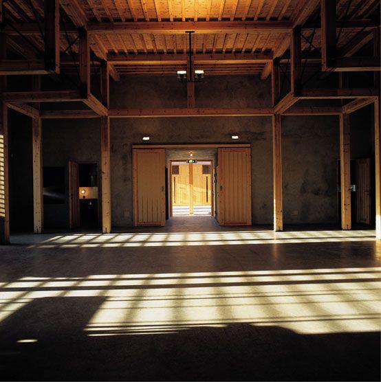 Timber construction. St. Klara - Catholic Church. Hille Strandskogen Arkitekter. Kongsvinger, 2001.