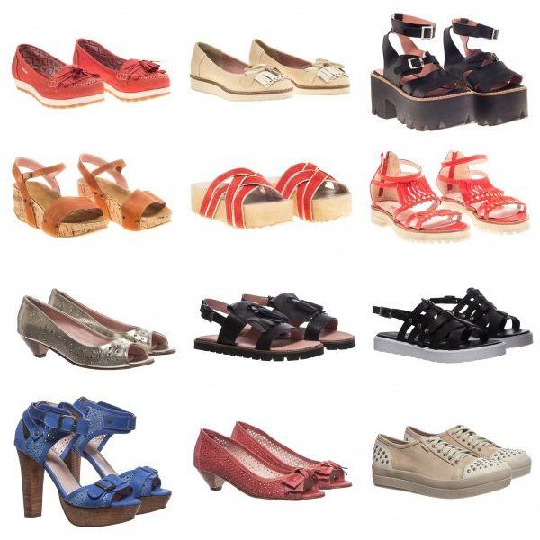 ¡Algunos lindos pares de zapatos que recopilamos de las más de 180 tiendas online que figuran en nuestra sección CALZADO! http://www.guiapurpura.com.ar/calzado