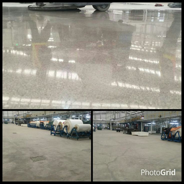 Make over of Polished Concrete