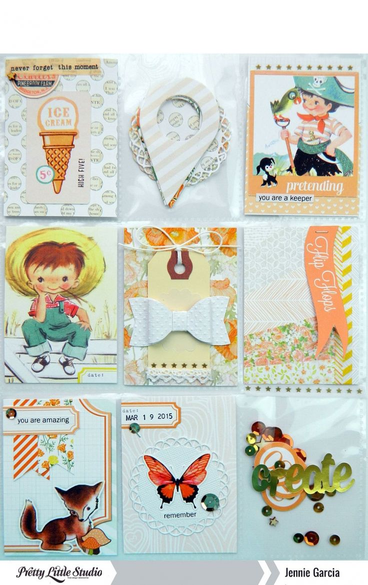 How to scrapbook letters - Pocket Letters Using Products From Pretty Little Studio Pocketletters Projectlife Pocketpages