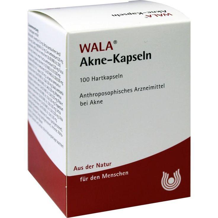 AKNE KAPSELN:   Packungsinhalt: 100 St Kapseln PZN: 01399961 Hersteller: WALA Heilmittel GmbH Preis: 12,04 EUR inkl. 19 % MwSt. zzgl.…