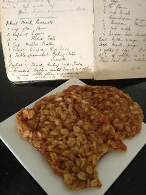 An original Anzac biscuit recipe handed down from 1917 - these are the best Anzac biscuits I have ever tasted!