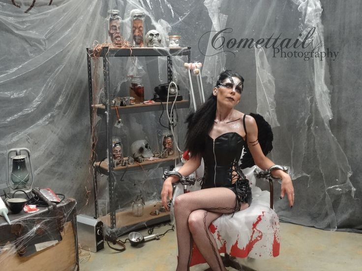 Evil Fairy Queen. Chained. Handcuffs.
