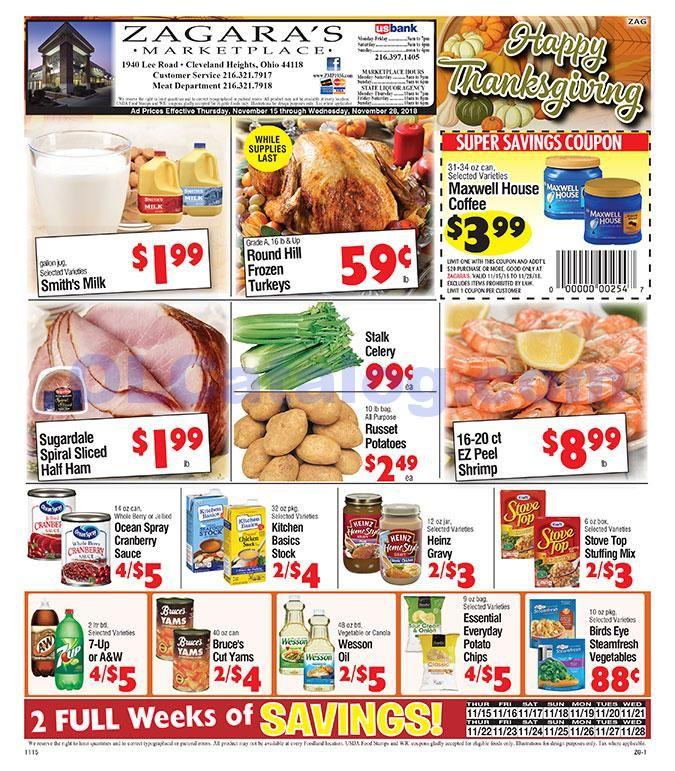Zagara S Marketplace Weekly Ad February 7 13 2019