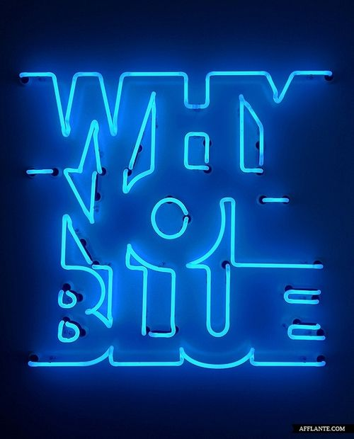 Why not blue?