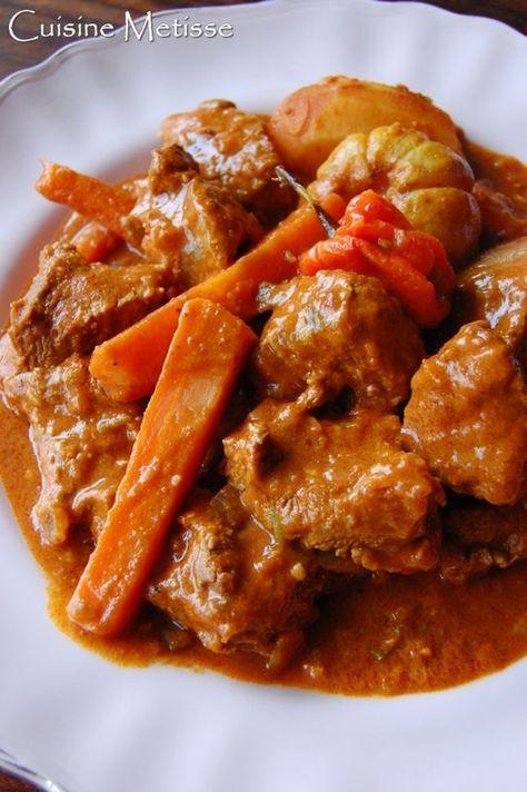 Mafé boeuf – boeuf mijoté aux cacahuètes | Cuisine Metisse