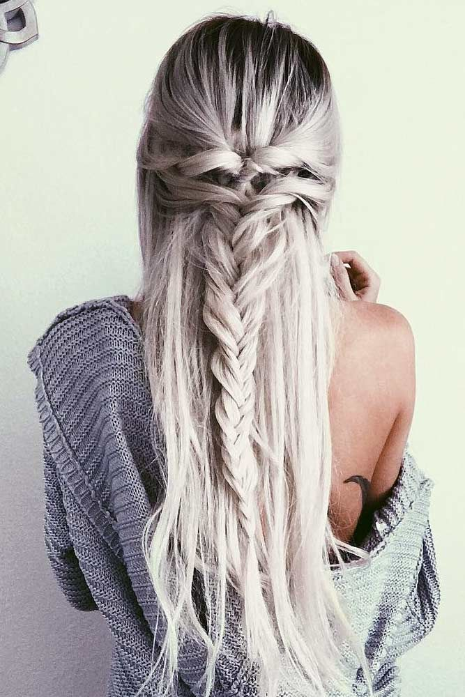 Straight Hairstyles For Homecoming