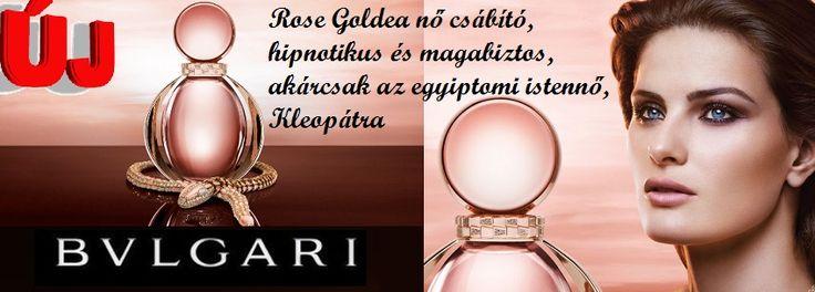 Bvlgari Rose Goldea női parfüm   A Rose Goldea nő csábító, hipnotikus és magabiztos, akárcsak az egyiptomi istennő, Kleopátra.   http://www.parfumdivat.hu/parfumdivathazak/bvlgari-rose-goldea-noi-parfum.html