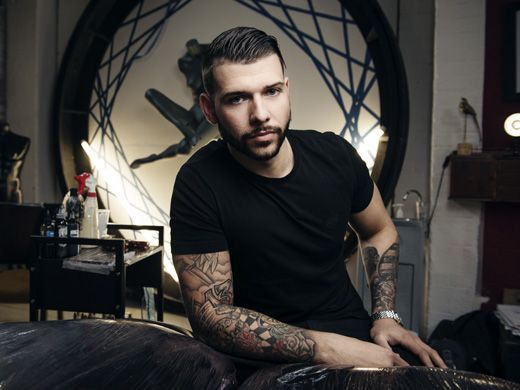 Jay Hutton from Tattoo Fixers