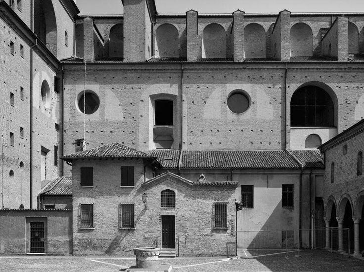 Seitenfassade von Sant'Andrea - Leon Battista Alberti