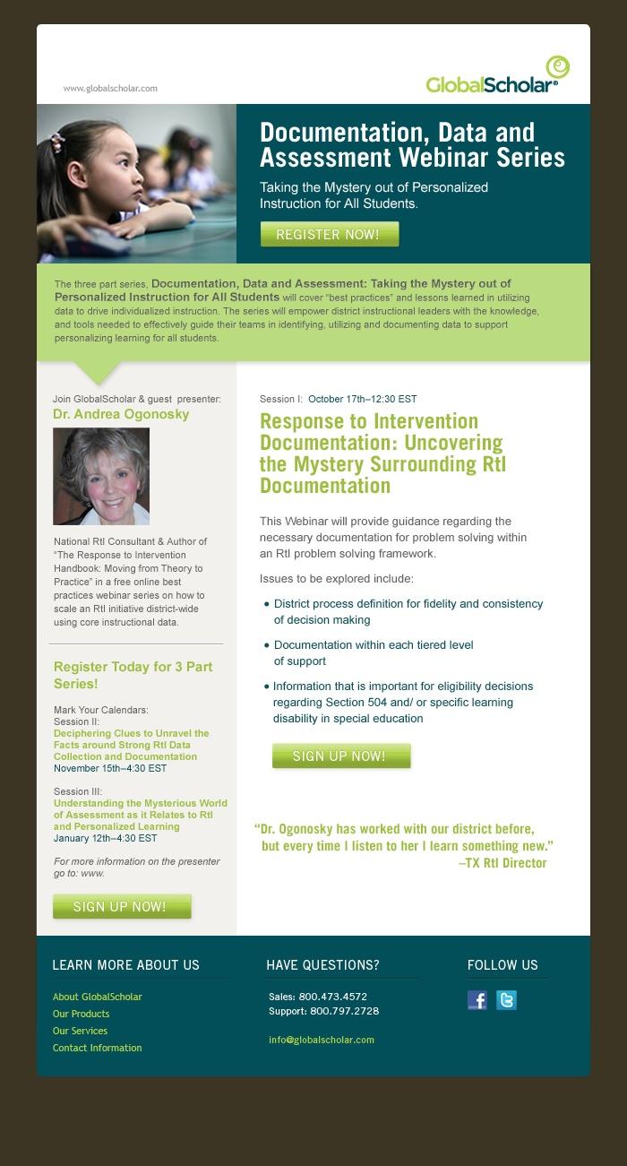 E-mail Newsletter Inspiration