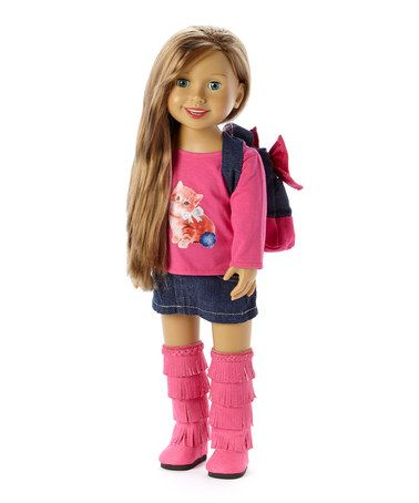 Look what I found on #zulily! Alexis O'Shay Dollfriend® Doll by Via E #zulilyfinds
