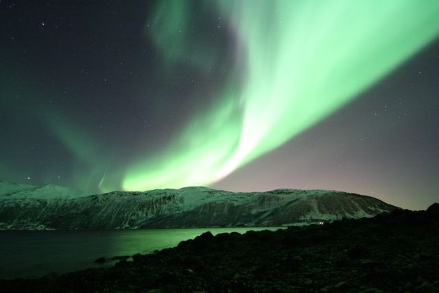 Northern Light Tromsø Norway. Photo made by J Boeve