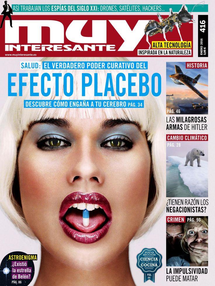 Revista #MuyInteresante 416. Aunque los placebos no curan, cuando los tomamos nuestro organismo puede fabricar analgésicos contra el dolor. ¿Cómo sucede?