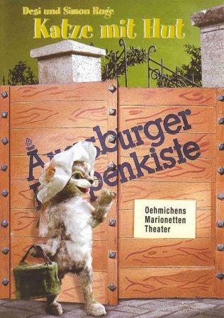 Augsburger Puppenkiste - Katze mit Hut. Ich liebe diese Geschichten!