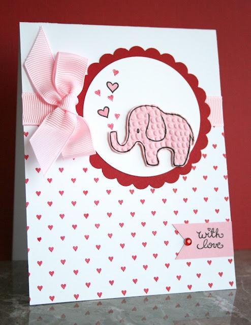 97 best images about Elephant cards – Elephant Valentine Card