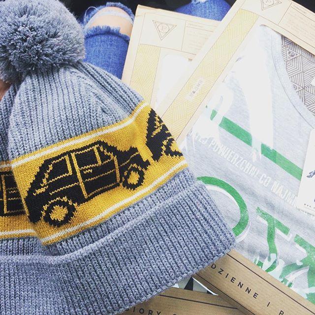 Kupiłam idealną czapkę z moim maluchem! 😎 a tu skończyła się zima ... 🙁 #cap #sewing #sewinglove #sewingart #sweaterweather #fabric