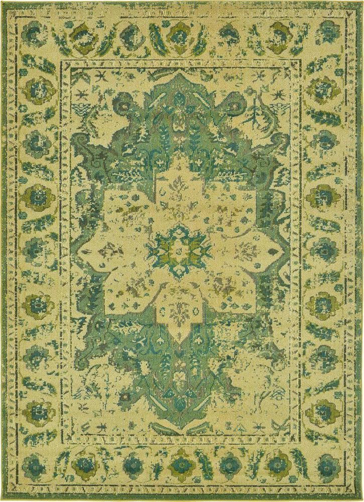 Traditional Oriental Area Rug Persian Style Green Carpet Brand New  #a2zrug #TraditionalModern