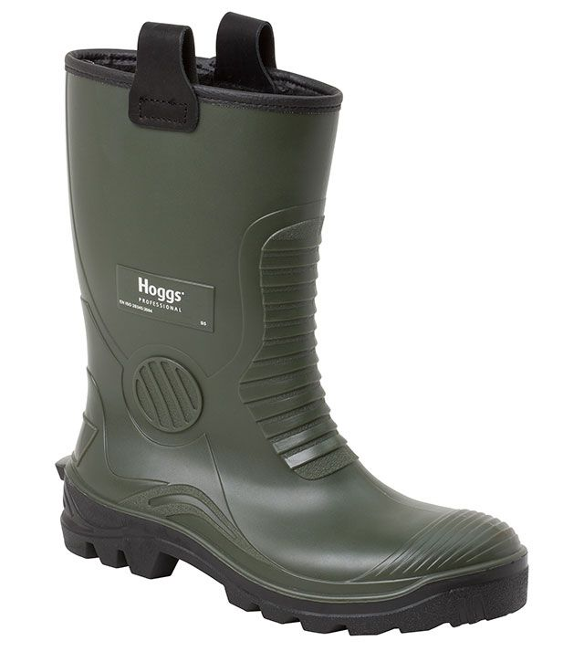 Aqua-Tuff Safety Rigger Boots by Hoggs Professional | Wellingtons and Rubber Footwear from Fife Country