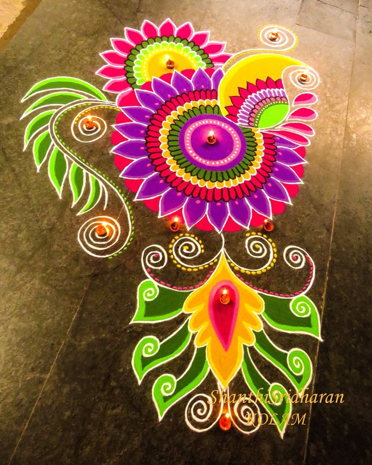 rangoli designs wallpaper stars - photo #42