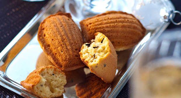 Madeleines au foie grasVoir la recette des Madeleines au foie gras >>