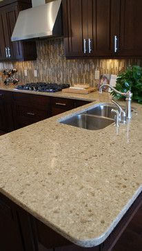 Cambria Darlington Quartz Countertops contemporary-kitchen-countertops