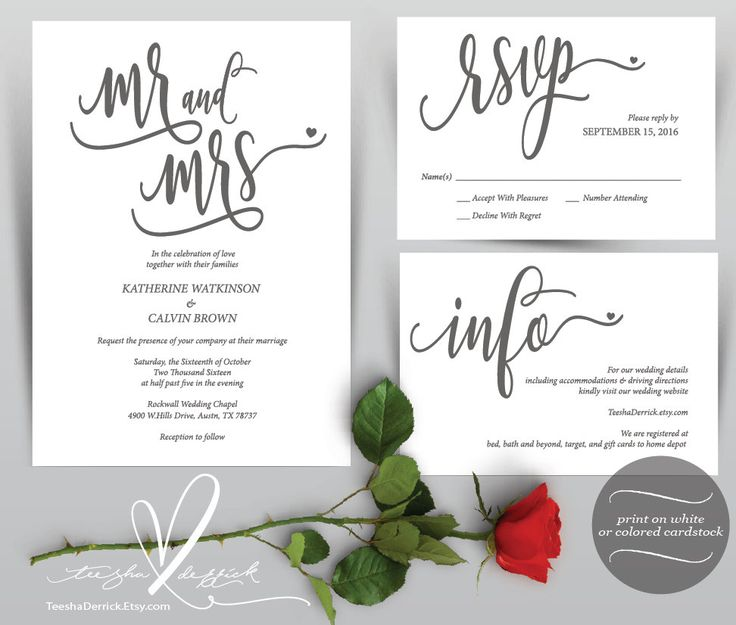 7 best Wedding Rehearsal Dinner Card Design images on Pinterest - download invitation card