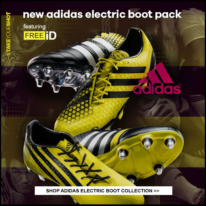 adidas electric rugby boots