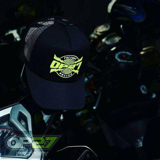 Topi OP27 Factory Racing COP27-006 Black  087845622777 (WA, SMS, & Telp) / D17560D1 (BBM) / op27factory (LINE)