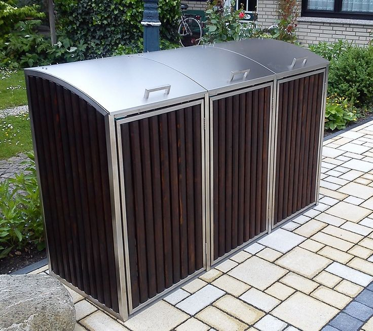 25 beste idee n over m lltonnenbox edelstahl alleen op. Black Bedroom Furniture Sets. Home Design Ideas