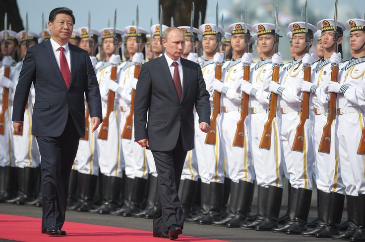 From the moon to the Mediterranean to the heart of Moscow, China and Russia in recent days have announced a striking number of moves to strengthen military, financial and political ties, raising the specter of a deeper alliance between the U.S. rivals.