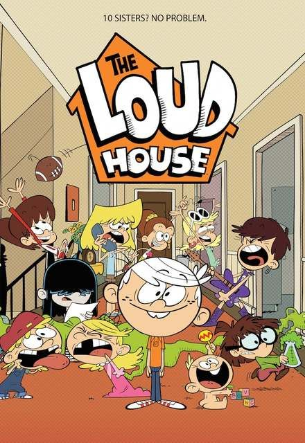 The Loud House poster... And this is the poster I would've wanted for our Christmas party.