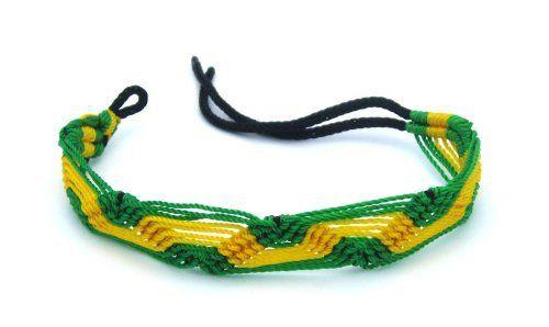 Rasta/Reggae Jamaican Adjustable Strand Bracelet AMEX Jewelry. $5.99. Fully Adjustable to fit all wrists. Reggae Style Bracelet. Bob Marley Inspired