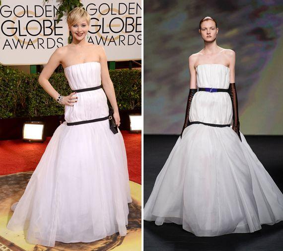 Só ela mesmo para, na mesma noite, trollar a amiga Taylor Swift enquanto ela dava uma entrevista, receber o prêmio de melhor atriz coadjuvante por Trapaçae usar um vestido que vira meme na internet! Estou falando da amada Jennifer Lawrence, a atriz que coleciona prêmios, declarações bem-humoradas e looks às vezes maravilhosos, às vezes polêmicos …