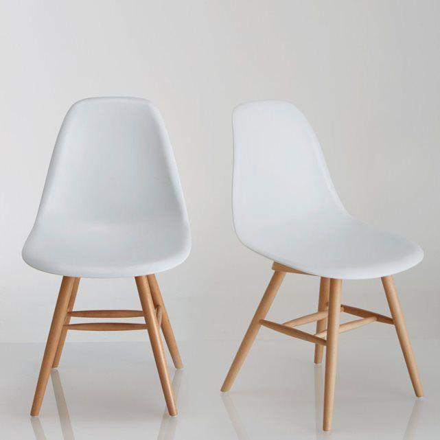 Image Chaise à coque plastique (lot de 2), Jimi La Redoute Interieurs
