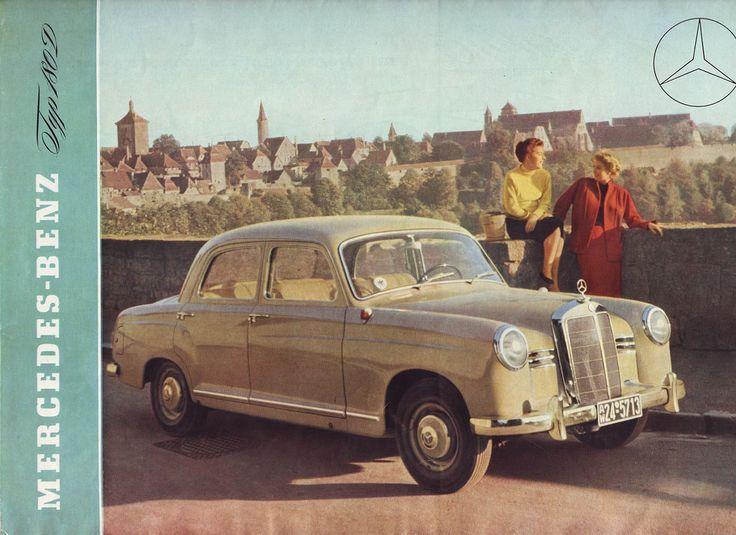 Mercedes-Benz 180D (W120) Brochure