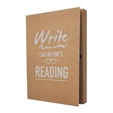 The Gift Label Notitieboek A5 - Write Like No One's Reading