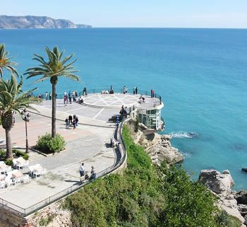 Balcon de europa...Nerja, Spain excellent memories and what a view!
