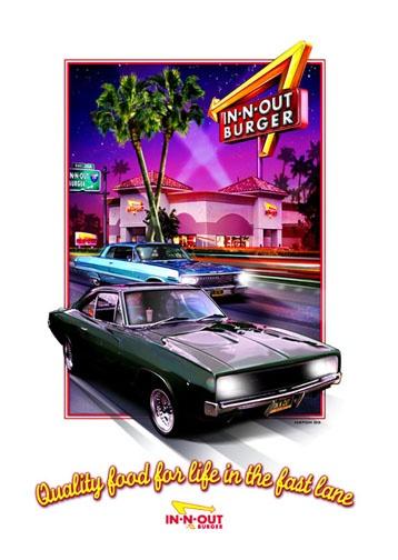 In-N-Out Burger T-shirt illustration | Jim Hatch Illustration ...