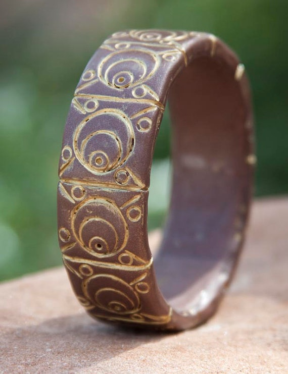 136 best Clay bangles images on Pinterest Charm bracelets Polymer