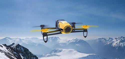 """Your Eyes In The Sky……""""Parrot Bebop Drone"""". Thanks to the the FAA's recent decision to allow civilian drones into public airspace, the skies above us could soon be swarming with helpful robo-fliers. To that end, Parrot's newest model acts as a personal aerial surveillance system—albeit for only 12 minutes at a time."""