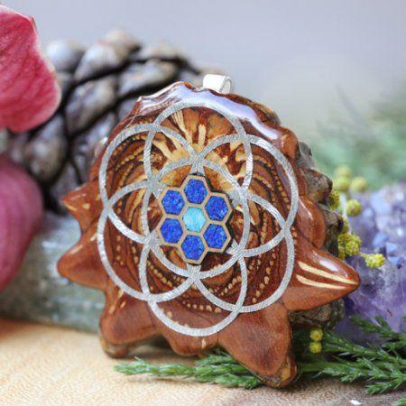Cosmic Honeycomb s Seed of Life & Back Om | Třetí oko Pinecones